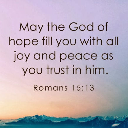 May The God of Hope
