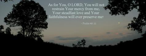 Psalm 40.11